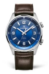 Jaeger LeCoultre Polaris blu con cinturino marrone 9008480