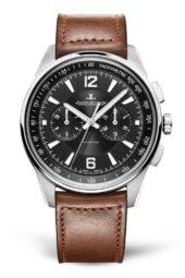 Jaeger LeCoultre Polaris Chronograph nero pelle 9028471